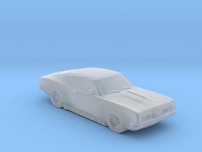 Cuda fastback 1969 in Smooth Fine Detail Plastic