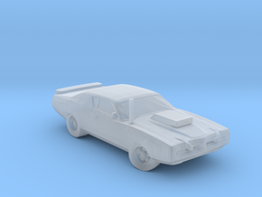 Dodge Charger Dillinger 1974 in Smooth Fine Detail Plastic