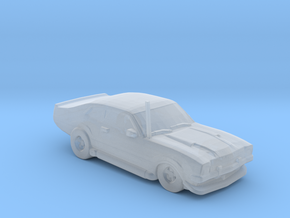 Ford Maverick 1973 in Smooth Fine Detail Plastic