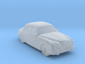 Jaguar MK2 1962 in Smooth Fine Detail Plastic