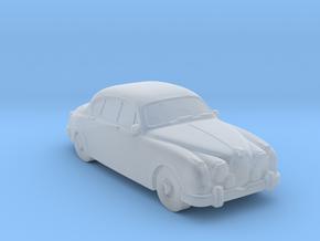 Jaguar MK2 1962 in Smooth Fine Detail Plastic