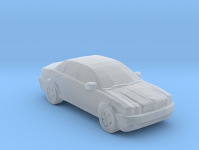 Jaguar X type in Smooth Fine Detail Plastic