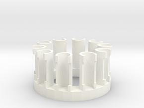 10 Peg Monster tail Loom in White Processed Versatile Plastic