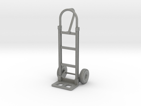 1:18 Scale 2-Wheel Dolly/Hand Truck in Gray PA12