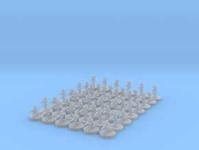 6mm Clone Troopers (48) in Smooth Fine Detail Plastic