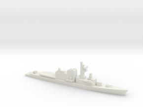 Hatsuyuki-class destroyer, 1/1250 in White Natural Versatile Plastic