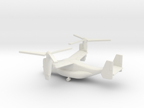 Bell Boeing V-22 Osprey in White Natural Versatile Plastic: 1:200