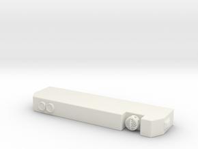 1/64 Seagrave MII Bumper in White Natural Versatile Plastic