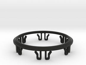 Beta - Improved Clip Ring for LSS and LSS DT in Black Natural Versatile Plastic