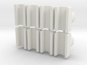 pylon_cap_35_x8 in White Natural Versatile Plastic