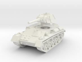T-70 Light Tank 1/56 in White Natural Versatile Plastic