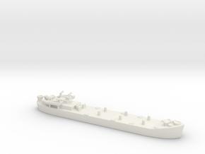 Landing ship tank  lst mk 2 1/1200   in White Natural Versatile Plastic