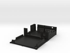 Protective box 1.1 Microhard motherboard pMDDL com in Black Natural Versatile Plastic