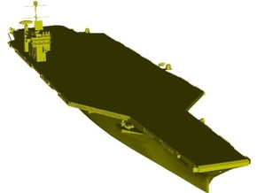1/1250 scale USS George Washington CV-73 carrier in Smooth Fine Detail Plastic