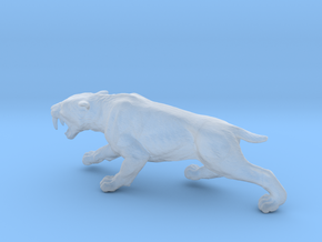 Smilodon in Smoothest Fine Detail Plastic: 1:87 - HO