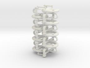 Life ring buoy 75 cm - 1:25 - 8X in White Natural Versatile Plastic