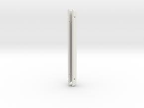 """Catalina Capri,TD=16mm, 6"""" x 1/2""""  in White Natural Versatile Plastic"""