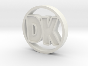 DK Coin in White Strong & Flexible