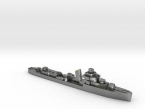 Brazilian Amazonas class destroyer 1:1800 WW2 in Natural Silver