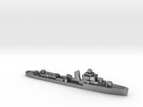 Brazilian Amazonas class destroyer 1:3000 WW2 in Natural Silver