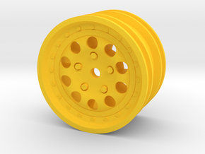 959-rim-for M-chassis in Yellow Processed Versatile Plastic