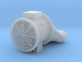 """1/64 """"S"""" Scale Grain Bin Fan in Smooth Fine Detail Plastic"""