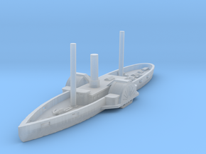 1/1000 USS Harriet Lane in Smooth Fine Detail Plastic
