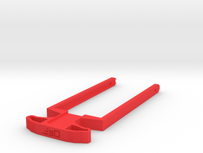 M27 Priming Handle for Nerf Mercury XIX-500 in Red Processed Versatile Plastic
