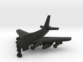 North American FJ-4 Fury in Black Natural Versatile Plastic: 1:500