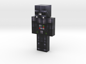 Darth Vader (Lightsaber) | Minecraft toy in Natural Full Color Sandstone