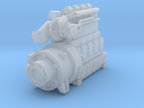 4SKRT Engine  Combined in Smoothest Fine Detail Plastic