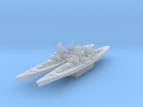 H-39 Battleship 1/4800 in Smooth Fine Detail Plastic