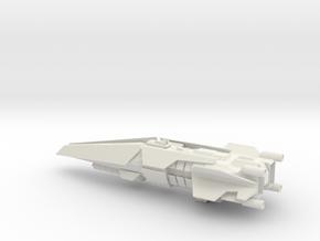 Halo Thanos Class Destroyer in White Natural Versatile Plastic