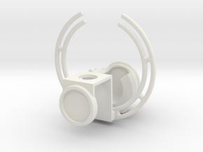 cykejoin in White Natural Versatile Plastic