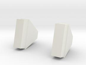 Apollo Snoopy Cap - Mic Holder in White Natural Versatile Plastic