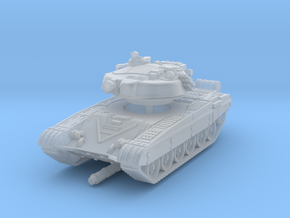 T-72 B 1/220 in Smooth Fine Detail Plastic