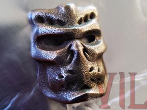 UBER Pendant ⛧VIL⛧ in Polished Bronzed-Silver Steel