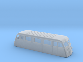 Swedish railcar Yd H0-scale in Smooth Fine Detail Plastic
