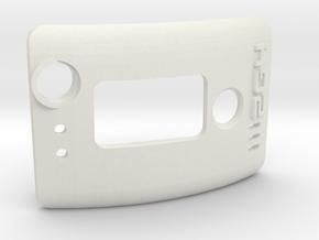2.4 module Door V1 in White Natural Versatile Plastic
