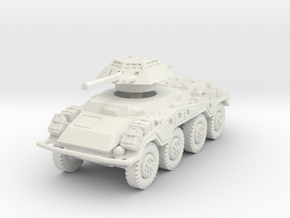 Sdkfz 234-1 early 1/76 in White Natural Versatile Plastic