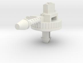 Cobra STUN Rear Machine Gun in White Natural Versatile Plastic