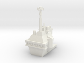 1/700 Flight Opertaions Tower in White Natural Versatile Plastic