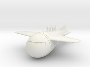 (1:144) Gotha Rammstachel in White Natural Versatile Plastic