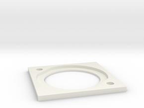 FCS2 Bracket in White Natural Versatile Plastic