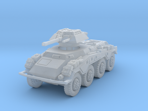 Sdkfz 234-1 early 1/220 in Smooth Fine Detail Plastic
