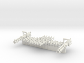 Weapon Pack Legion Scale for Star Wars Clone Wars in White Natural Versatile Plastic: 28mm