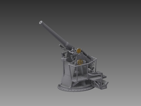4 inch QF MKV 1943 1/72 in Smooth Fine Detail Plastic