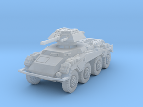 Sdkfz 234-1 late 1/120 in Smooth Fine Detail Plastic
