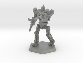 WS Mk3 Light/Scout Mech in Gray PA12: Small