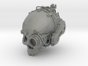 Servo Skull  in Gray PA12